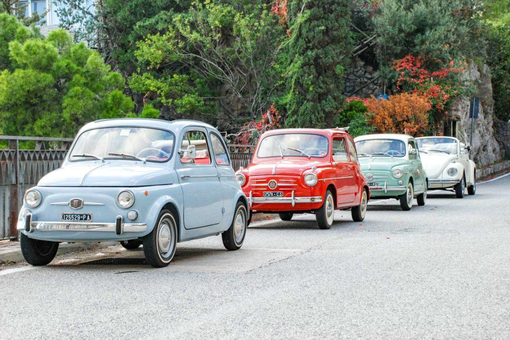 500D Conv - 600L Ragtop - Fiat 600 Standard - VW Beetle Convertible